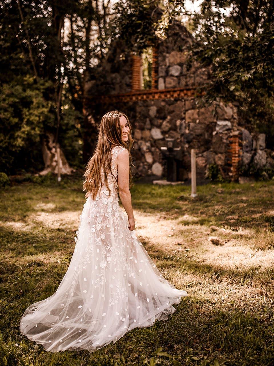 Braut Salvey Mühle Hochzeitslocation in der Uckermark Brandenburg